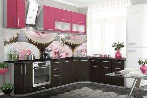 Кухонный гарнитур Фуксия  - Мебельная фабрика «Славные кухни (ИП Ларин В.Н.)»