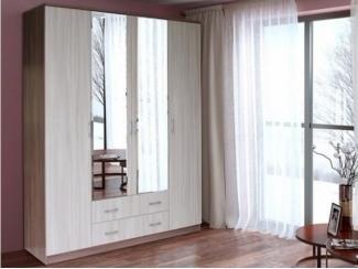 Большой шкаф с зеркалами Лиза - Мебельная фабрика «Грааль», г. Пенза