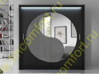 Шкаф-купе с круглым зеркалом Нова  - Мебельная фабрика «Комфорт»