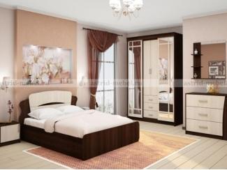Спальный гарнитур Ника 2 - Мебельная фабрика «Астрид-Мебель (Циркон)»