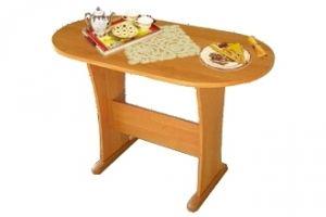 стол обеденный овальный Аккорд - Мебельная фабрика «Форс»
