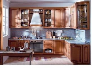 Кухня Альба Массив Берёзы - Мебельная фабрика «Мега Сити-Р»