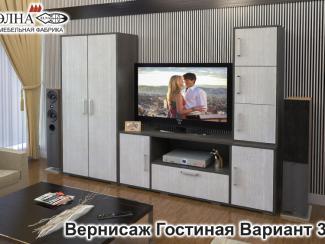 Гостиная Вернисаж вариант 3 - Мебельная фабрика «Элна»