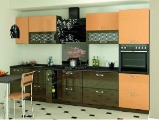 Прямая кухня Фреш Абрикос  - Мебельная фабрика «SON&C»