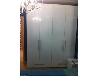 Белый глянцевый шкаф - Мебельная фабрика «Три кита»