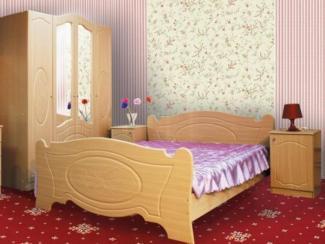 спальня Азалия 1 набор 1 - Мебельная фабрика «Долес»