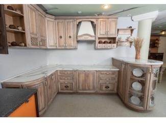 Кухонный гарнитур из массива ясеня - Мебельная фабрика «Леспром»