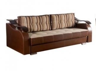 Тик-Так прямой диван Бриг  - Мебельная фабрика «Фокстрот мебель»