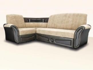 светлый угловой дива с полочкой Азия  - Мебельная фабрика «Димир»