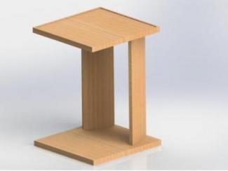 Стол журнальный NEW N 005 - Мебельная фабрика «Аллант»