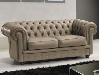 Честерфилд кожаный диван - Мебельная фабрика «ДЕФИ»