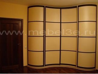 Симметричный радиусный шкаф - Мебельная фабрика «ТРИ-е»