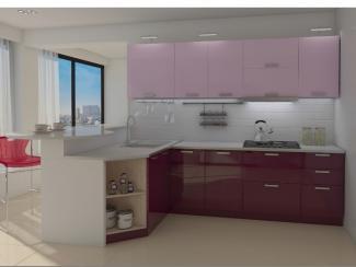 кухня угловая БельКанто фасады МДФ - Мебельная фабрика «Форс»