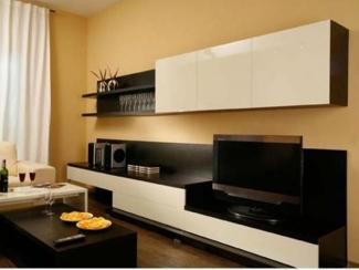 Черно-белая гостиная - Мебельная фабрика «Мастер Мебель-М»