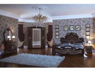 Изящный спальный гарнитур Грация Орех  - Мебельная фабрика «Мэри-Мебель»