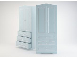 Ромео Шкаф с 2-мя дверьми и 3-мя ящиками RM-22