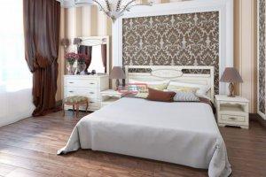 Спальня Диана МДФ Патина - Мебельная фабрика «Вестра»