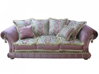 Мягкий розовый диван Амадей - Мебельная фабрика «Экодизайн»