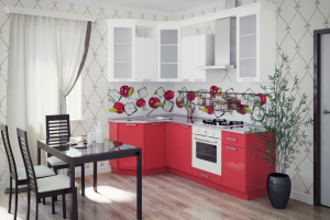 Кухонный гарнитур Лика   - Мебельная фабрика «Славные кухни (ИП Ларин В.Н.)»