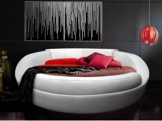 Круглая кровать  Лагуна - Мебельная фабрика «PUFF»