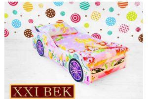 Кровать-машина для девочки Фея - Мебельная фабрика «21 Век» г. Волжск