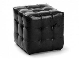 Пуф ПФ-1 черный - Мебельная фабрика «Вентал»