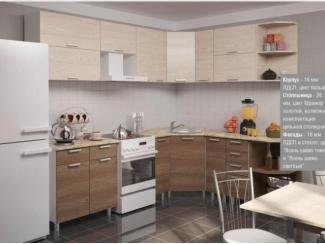 Кухня в коричневом цвете  - Мебельная фабрика «Влад»