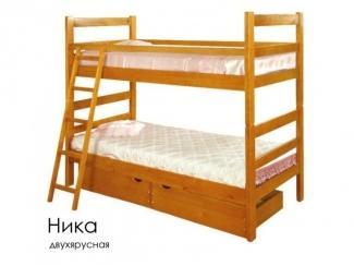 Кровать двухъярусная Ника - Мебельная фабрика «Массив»