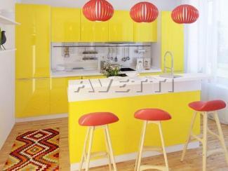 Прямая кухня Эмилия - Мебельная фабрика «Avetti», г. Волгодонск