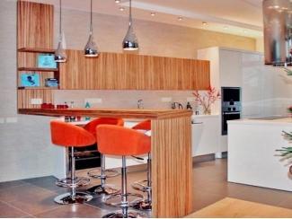 Кухня с барной стойкой - Мебельная фабрика «Мебель Продакшн»