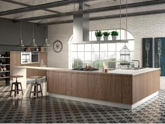 Простой кухонный гарнитур   - Импортёр мебели «Riboni Group (Италия)»