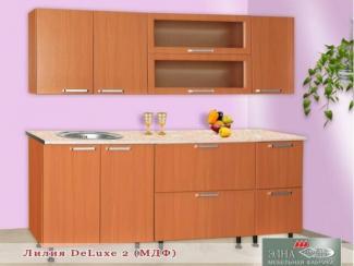 Кухня прямая Лилия DeLuxe 2 (МФД) - Мебельная фабрика «Элна»