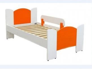 Кровать детская Ромашка с прямой накладкой - Мебельная фабрика «Новодвинская мебельная фабрика»