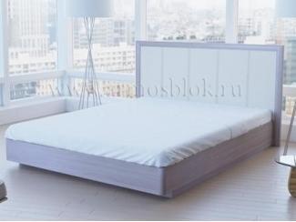 Кровать белая Моника  - Мебельная фабрика «Армос»