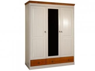Трехстворчатый шкаф №1 серии Дания - Мебельная фабрика «Timberica»