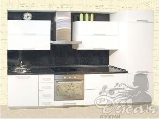Черно-белый кухонный гарнитур  - Мебельная фабрика «Джая»