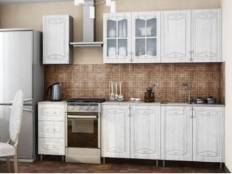 Кухня Смак в цвете серебрянное дерево - Мебельная фабрика «МИГ»