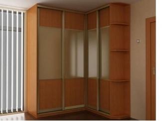 Угловой шкаф-купе   - Мебельная фабрика «Прага Мебель»