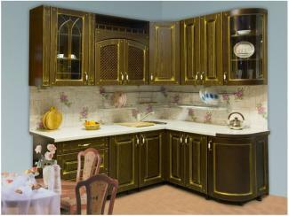 Кухня прямая Эбби патина - Мебельная фабрика «Вариант М»