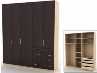 Шкаф Альфа В-4 - Мебельная фабрика «Командор»