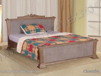 Кровать из дерева Сканди 2 - Мебельная фабрика «Альянс 21 век»