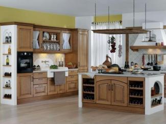 Кухня прямая Кастеллана - Мебельная фабрика «Атлас-Люкс»