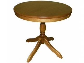 Стол  на одной ножке круглый МЕДВЕДЬ - Мебельная фабрика «Логарт»
