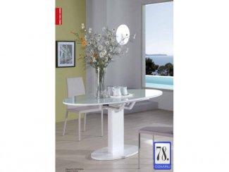 Стол раскладной B2332-1 белое стекло - Импортёр мебели «КиТплюс»