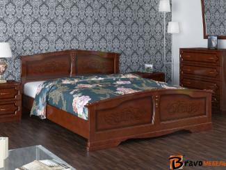 Кровать Елена - Мебельная фабрика «Bravo Мебель»