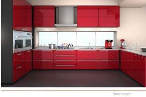 Кухня пластик 3 - Мебельная фабрика «ПластДекор»