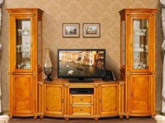 Гостиная стенка Валенсия люкс - Мебельная фабрика «Пинскдрев»