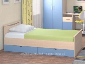 Односпальная кровать с ящиками 2915