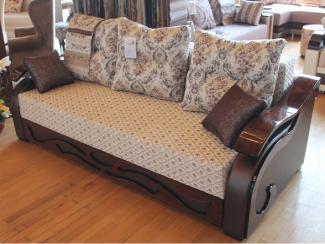 Мебельная выставка Ялта (Крым): диван прямой - Мебельная фабрика «Амарас»