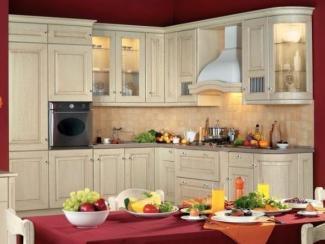Кухня угловая Селеста бежевая - Мебельная фабрика «Атлас-Люкс»